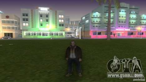 Niko Bellic for GTA Vice City