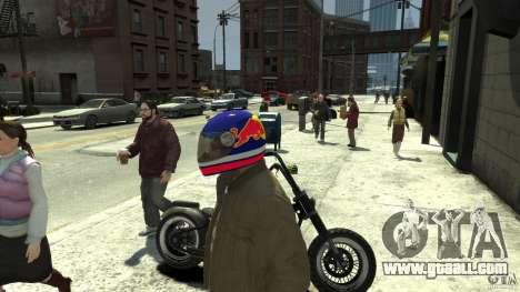 Energy Drink Helmets for GTA 4 seventh screenshot