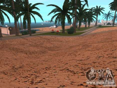 HQ Beach v1.0 for GTA San Andreas