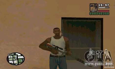 The KSVK (IOS-98) for GTA San Andreas second screenshot