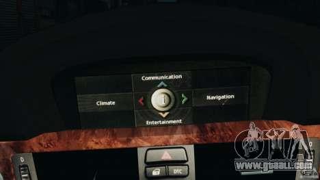 BMW 330i E92 for GTA 4 bottom view