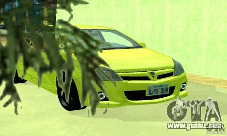 Opel Astra GTS for GTA San Andreas right view