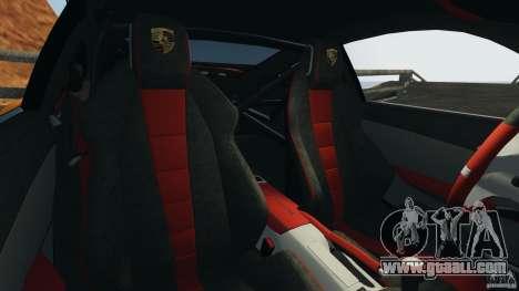 Porsche 911 GT2 RS 2012 v1.0 for GTA 4 inner view