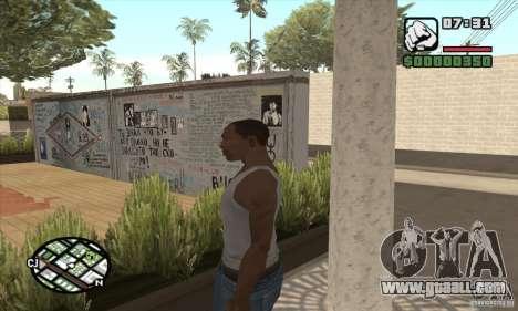 Tsoi Wall for GTA San Andreas second screenshot