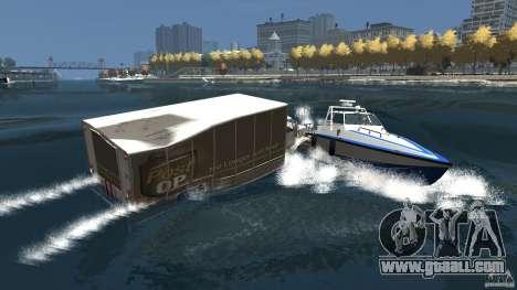 Benson boat for GTA 4 upper view