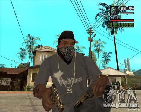 Millenias Weapon Pack for GTA San Andreas second screenshot