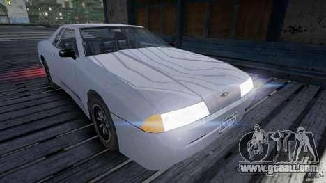 Elegy for GTA 4 back view