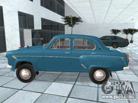 Moskvich 403 for GTA San Andreas left view