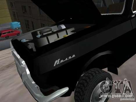 GAZ-24 VOLGA 95 for GTA San Andreas inner view