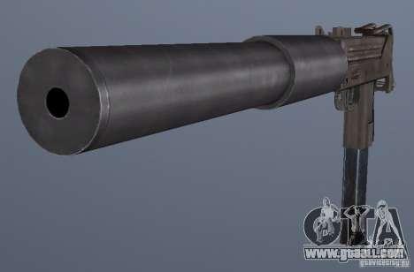 GRIMs Mac10 Silenced for GTA San Andreas third screenshot