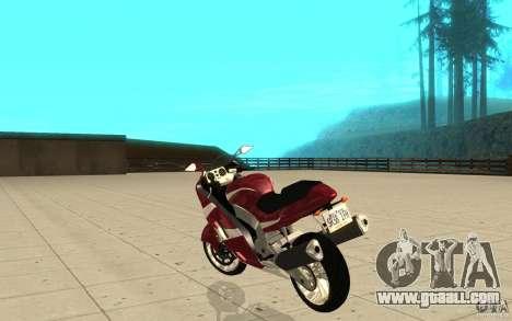 GTAIV TLAD Hakuchou Stock Version for GTA San Andreas back left view