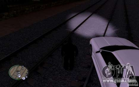 Russian Rails for GTA San Andreas sixth screenshot
