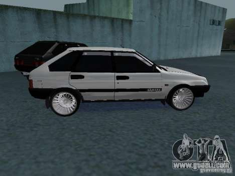 VAZ 2109 tunable for GTA San Andreas