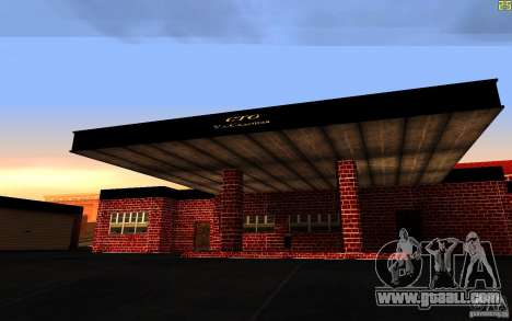 New garage in Dorothy for GTA San Andreas