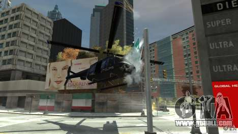 NYC Helitours Texture for GTA 4 inner view