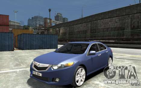 Acura TSX 2011 for GTA 4