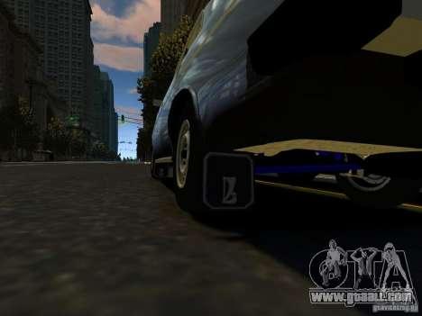 VAZ 2106 for GTA 4 inner view