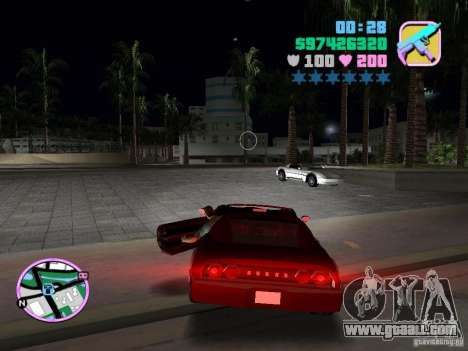 Phobos VT from Gta Liberty City Stories for GTA Vice City right view