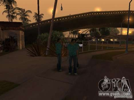 Los Santos Protagonists for GTA San Andreas