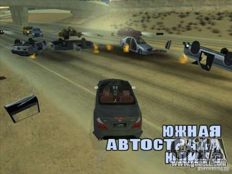 Force field for GTA San Andreas third screenshot