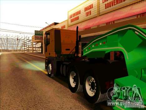 Iveco Eurotech for GTA San Andreas back view
