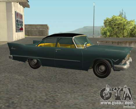 Plymouth Savoy 1957 for GTA San Andreas back left view