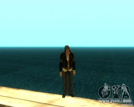 Alex Mercer ORIGINAL for GTA San Andreas fifth screenshot