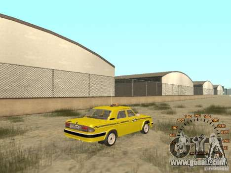 Gaz-31105 taxi for GTA San Andreas left view