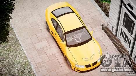 Pontiac GTO 2004 for GTA 4 side view