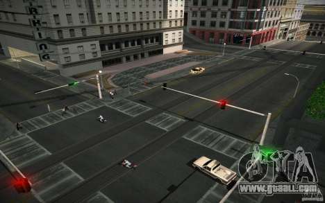 HD road (GTA 4 in SA) for GTA San Andreas second screenshot