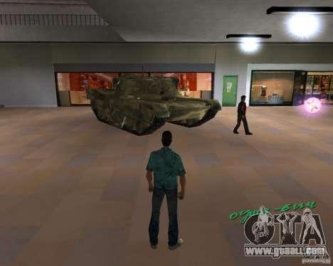 Camo tank for GTA Vice City