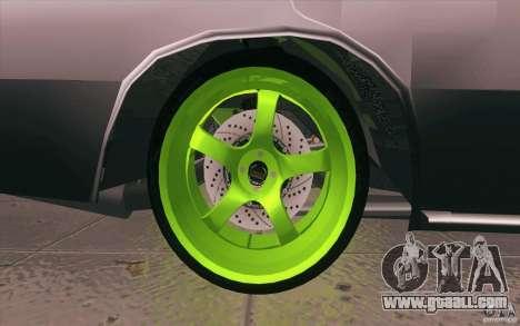 Vaz 2106 Lada Drift Tuned for GTA San Andreas