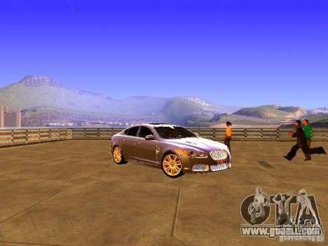 Jaguar XFR 2011 for GTA San Andreas left view