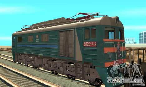 Locomotive VL23-419 for GTA San Andreas