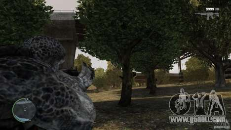 Gears Of War Grunt v1.0 for GTA 4 third screenshot