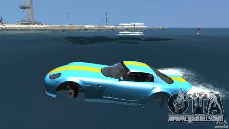 Banshee Boat for GTA 4 left view