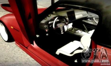 Honda S2000 JDM Tuning for GTA San Andreas bottom view