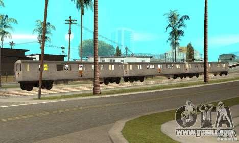 Liberty City Train GTA3 for GTA San Andreas left view