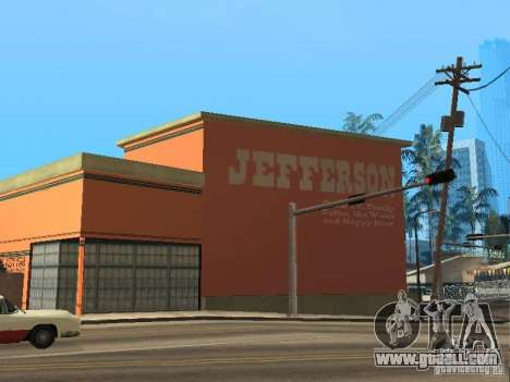 New motels for GTA San Andreas