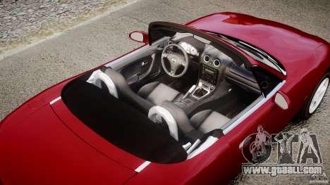 Mazda MX-5 Miata for GTA 4 engine