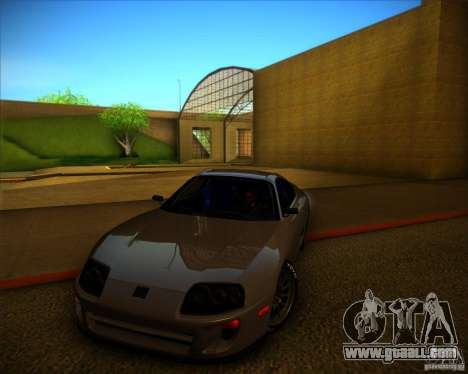 Toyota Supra SHE for GTA San Andreas side view