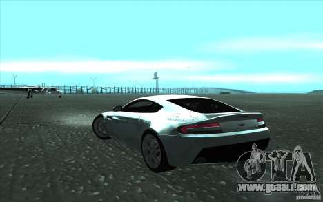 Aston Martin V12 Vantage for GTA San Andreas left view