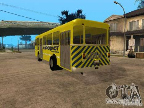 LIAZ 677p for GTA San Andreas back left view