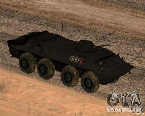 BTR-70 for GTA San Andreas