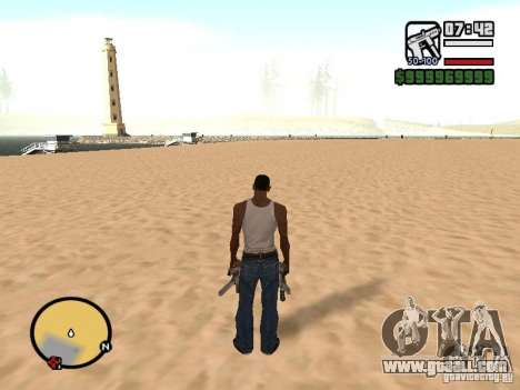 Change the zoom radar for GTA San Andreas forth screenshot