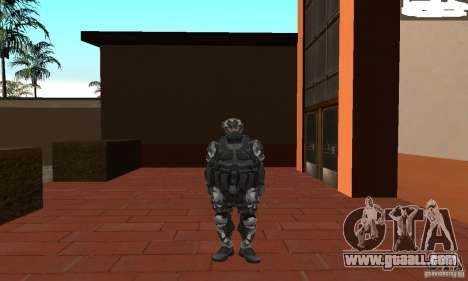 Crysis NanoSuit 2 for GTA San Andreas second screenshot