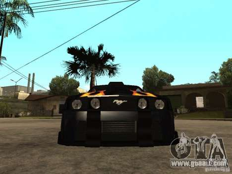 Ford Mustang GT Razor NFS MW for GTA San Andreas right view