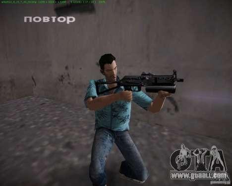 Pp-19 Bizon for GTA Vice City forth screenshot