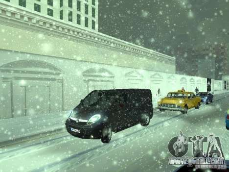 Vauxhall Vivaro v0.1 for GTA San Andreas