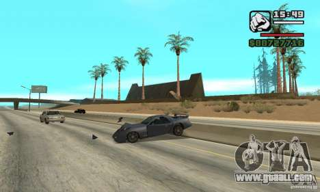 IV to SA features for GTA San Andreas second screenshot